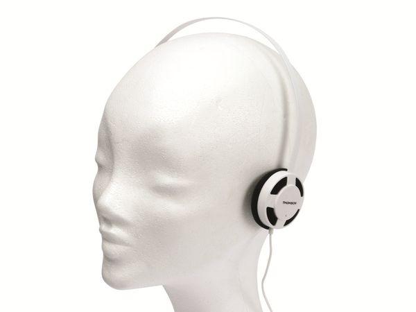 Stereo-Kopfhörer THOMSON HED1112W/BL, weiß/schwarz - Produktbild 3