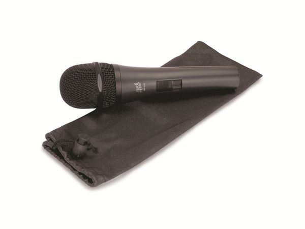 "Mikrofon ROCKHOUSE ""Semi-Professional"", schwarz - Produktbild 1"
