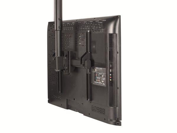 TV-Deckenhalterung HAMA 118655, schwarz - Produktbild 1