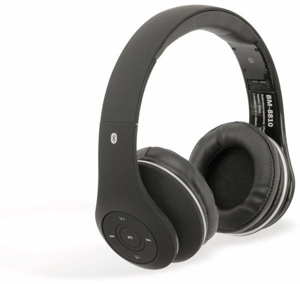 Bluetooth-Kopfhörer BM-8810, schwarz, B-Ware - Produktbild 1