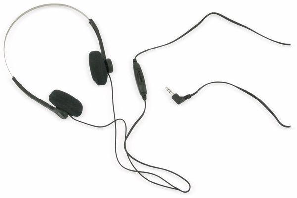 Stereo-Kopfhörer mit Lautstärkeregler AHS ALTO SPW LR - Produktbild 1