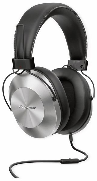 Over-Ear Kopfhörer Pioneer SE-MS5T, silber, Hi-Ress, Mikrofon