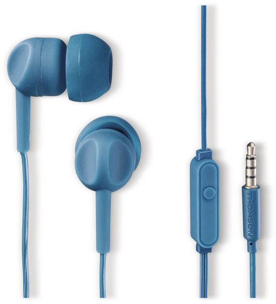 In-Ear Headset THOMSON 132486, blau - Produktbild 1