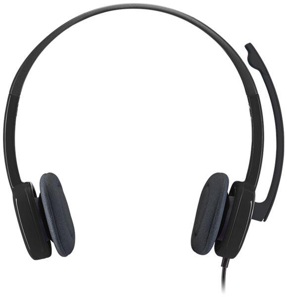 Stereo-Headset LOGITECH H151, 3,5 mm Klinke - Produktbild 2