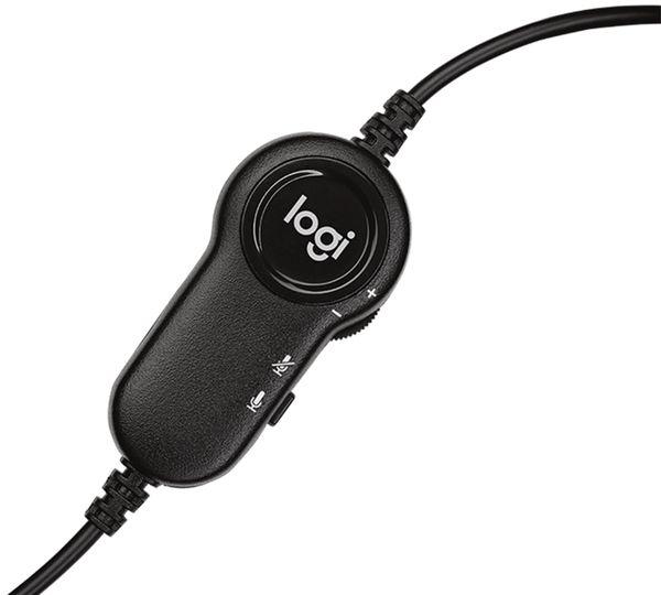 Stereo-Headset LOGITECH H151, 3,5 mm Klinke - Produktbild 4
