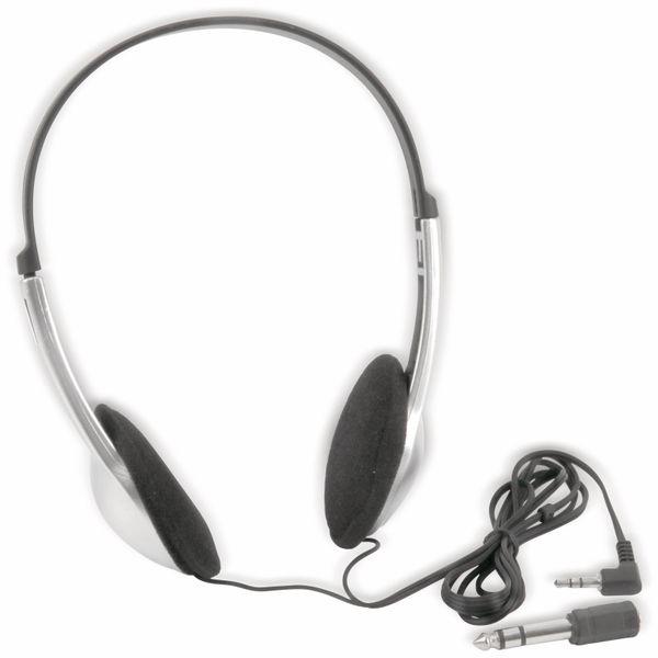 On-Ear Stereo Kopfhörer, 1,1m - Produktbild 1