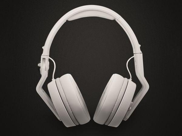 Kopfhörer PIONEER DJ HDJ-700-W, weiß - Produktbild 2