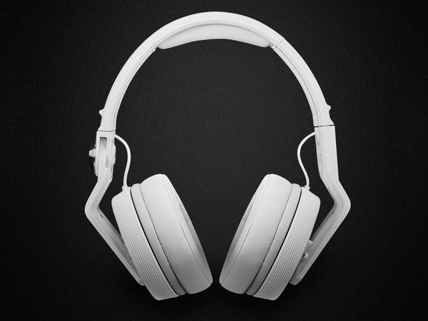 Over-Ear Kopfhörer PIONEER DJ HDJ-700-W, weiß - Produktbild 2