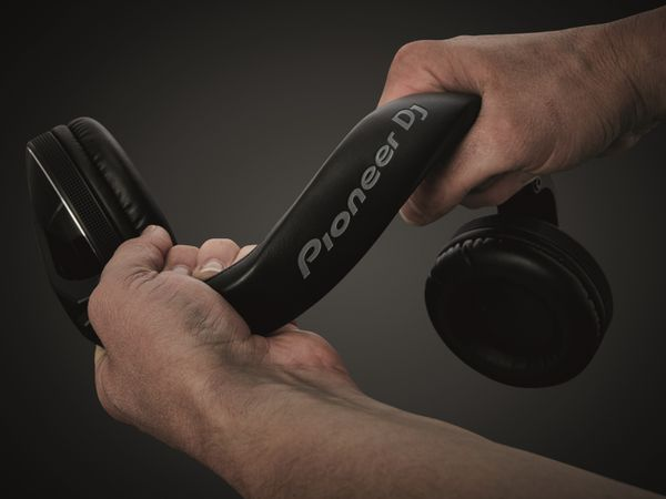 Kopfhörer PIONEER DJ HDJ-X5-S, silber - Produktbild 9