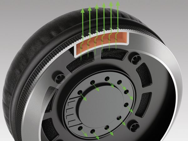 Over-Ear Kopfhörer PIONEER DJ HDJ-X5-S, silber - Produktbild 10