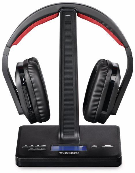 Funkkopfhörer THOMSON WHP5407, DAB+, schwarz - Produktbild 2