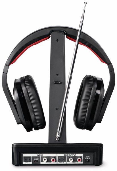Funkkopfhörer THOMSON WHP5407, DAB+, schwarz - Produktbild 3