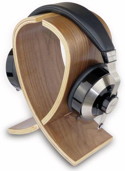 Kopfhörerständer DYNAVOX KH-250, Holz - Produktbild 2