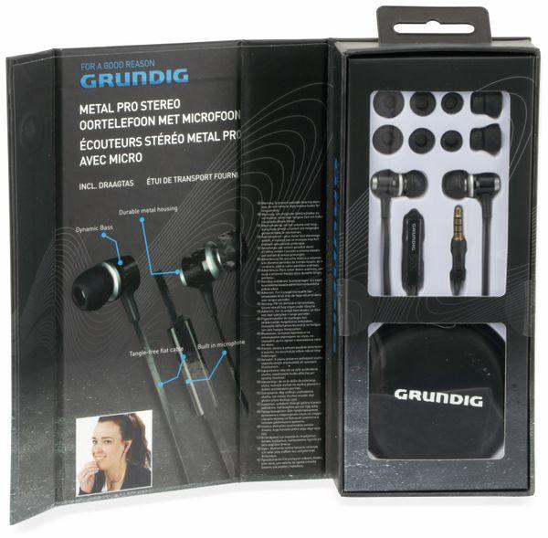 In-Ear Headset mit Flachkabel GRUNDIG 86351, schwarz - Produktbild 5