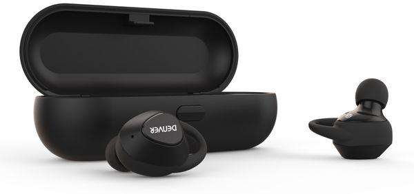 True Wireless In-Ear-Headset DENVER TWE-51, schwarz - Produktbild 2