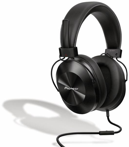 Over-Ear Kopfhörer Pioneer SE-MS5T, schwarz, Hi-Ress, Mikrofon