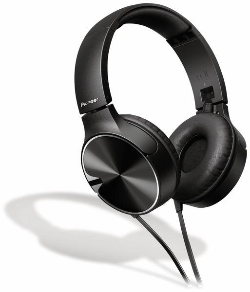 On-Ear Kopfhörer Pioneer SE-MJ722T, schwarz, Mikrofon