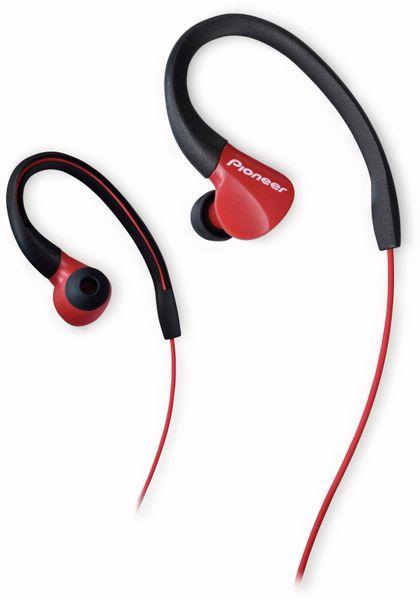 In-Ear Sport-Ohrhörer Pioneer SE-E3-R, rot