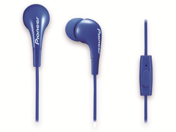 In-Ear-Ohrhörer Pioneer SE-CL502T-L, blau, Mikrofon