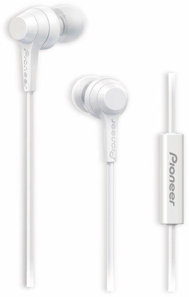 In-Ear-Ohrhörer Pioneer SE-C1T, weiß, Mikrofon