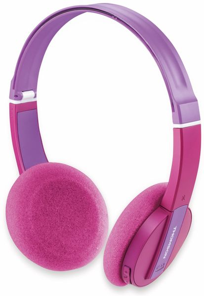 Bluetooth Headset THOMSON WHP-6017 P, pink