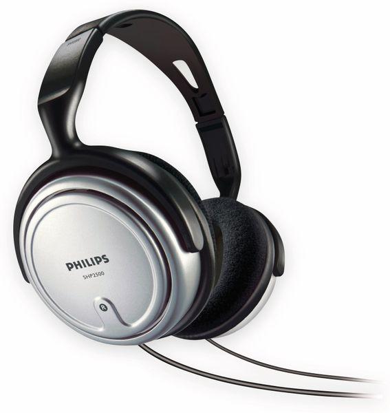 Kopfhörer PHILIPS SHP2500, silber/schwarz