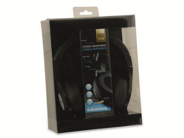 Kopfhörer GRUNDIG, 4m, schwarz - Produktbild 4