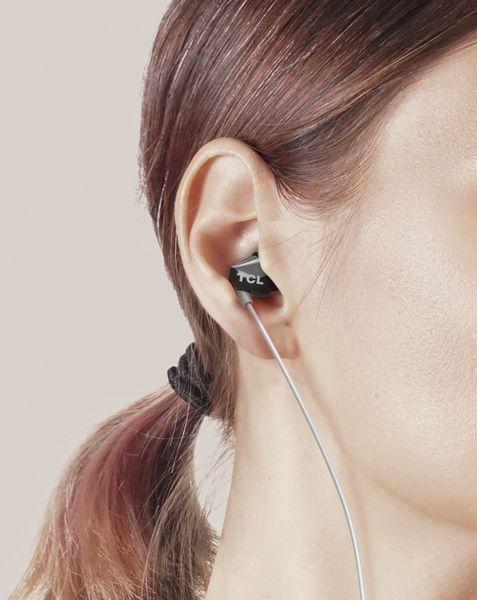 In-Ear Ohrhörer TCL SOCL100BK-EU, schwarz - Produktbild 6