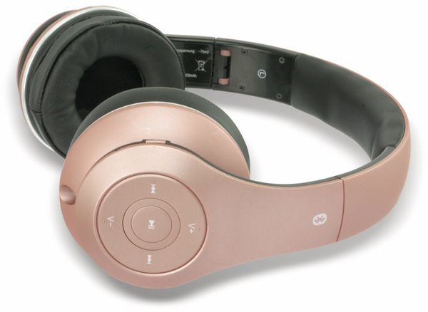 Bluetooth Headset, BKH, rose, B-Ware - Produktbild 3