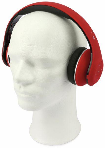Bluetooth Headset, BKH, rot, B-Ware - Produktbild 2
