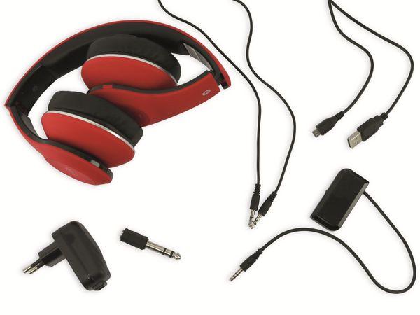 Bluetooth Headset, BKH, rot, B-Ware - Produktbild 5