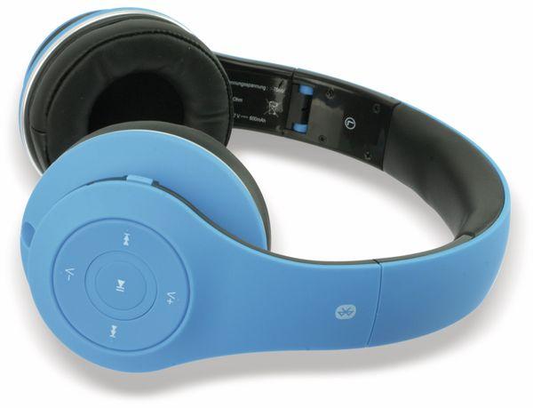 Bluetooth Headset, BKH, blau, B-Ware - Produktbild 3