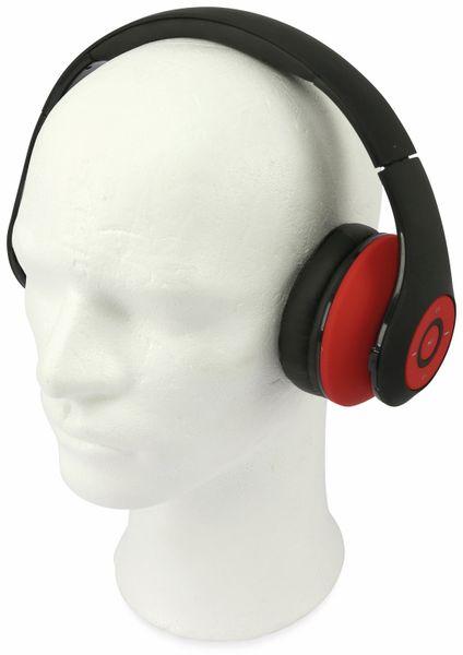 Bluetooth Headset, BKH, schwarz/rot, B-Ware - Produktbild 2