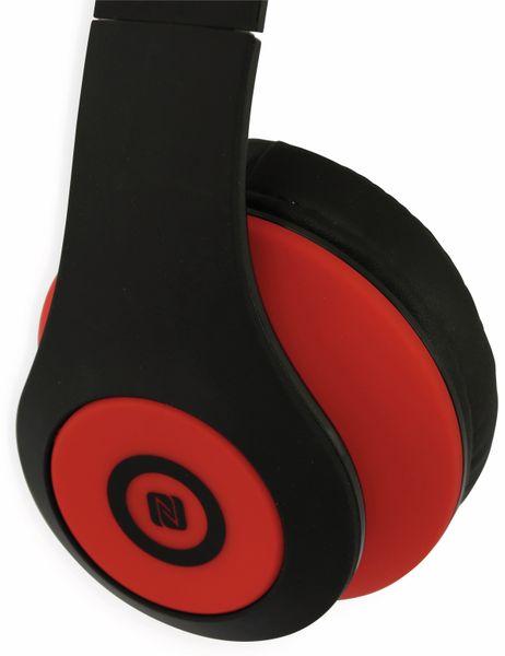 Bluetooth Headset, BKH, schwarz/rot, B-Ware - Produktbild 3