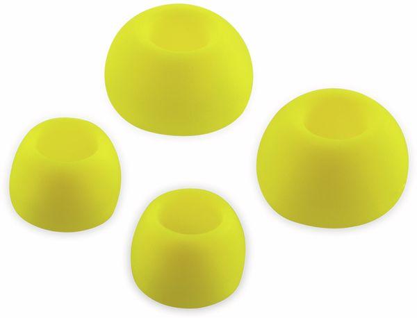 In-Ear Ohrhörer LOGILINK HS0043, gelb, wassergeschützt (IPX6) - Produktbild 2