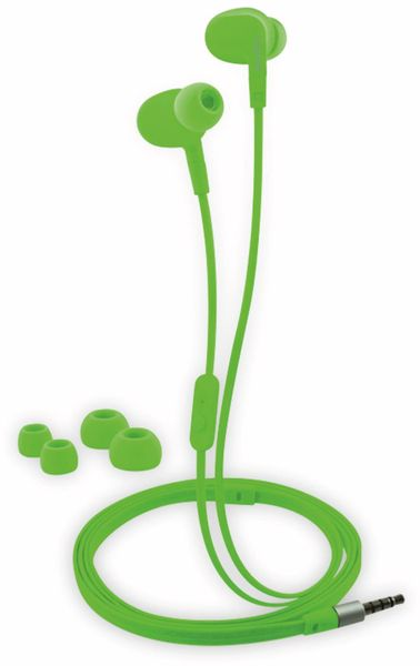 In-Ear Ohrhörer LOGILINK HS0044, grün, wassergeschützt (IPX6) - Produktbild 2