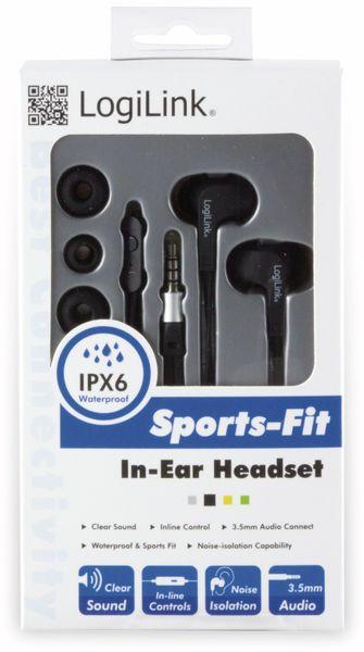 In-Ear Ohrhörer LOGILINK HS0042, schwarz, wassergeschützt (IPX6) - Produktbild 4