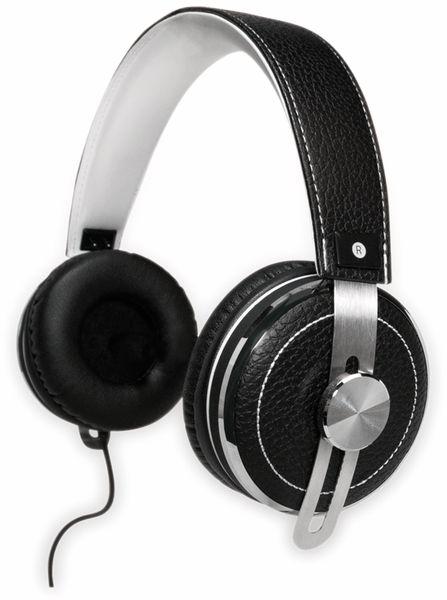 Over-Ear Kopfhörer TYPHOON RockStar TM033, schwarz/weiß - Produktbild 6