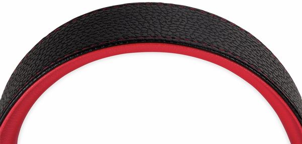 Over-Ear Kopfhörer TYPHOON RockStar TM028, schwarz/rot - Produktbild 6