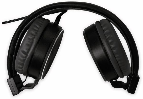 On-Ear Kopfhörer LOGILINK HS0049BK, faltbar, schwarz - Produktbild 2