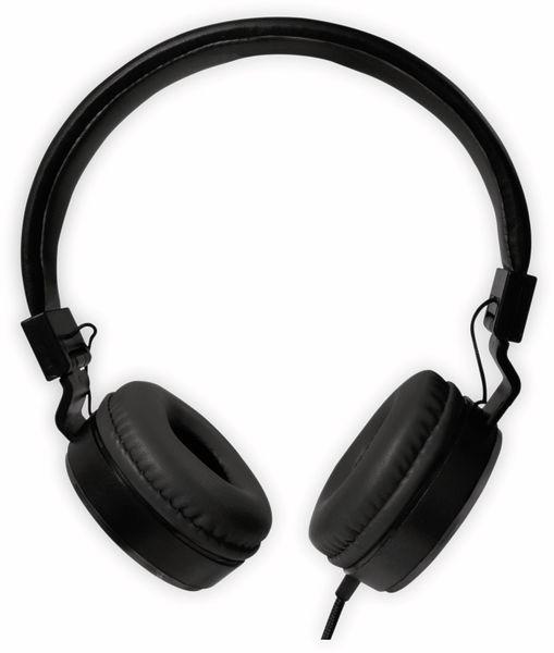 On-Ear Kopfhörer LOGILINK HS0049BK, faltbar, schwarz - Produktbild 4