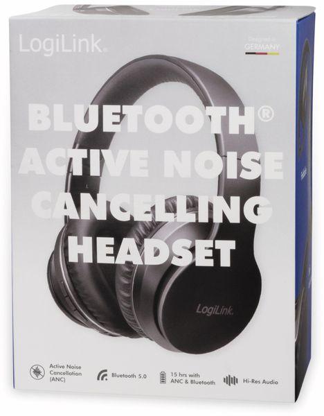 Bluetooth Over-Ear Kopfhörer LOGILINK BT0053, mit Active-Noise-Cancelling - Produktbild 10