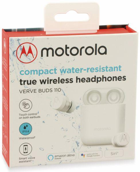 In-Ear Ohrhörer MOTOROLA VerveBuds 110, weiß - Produktbild 7