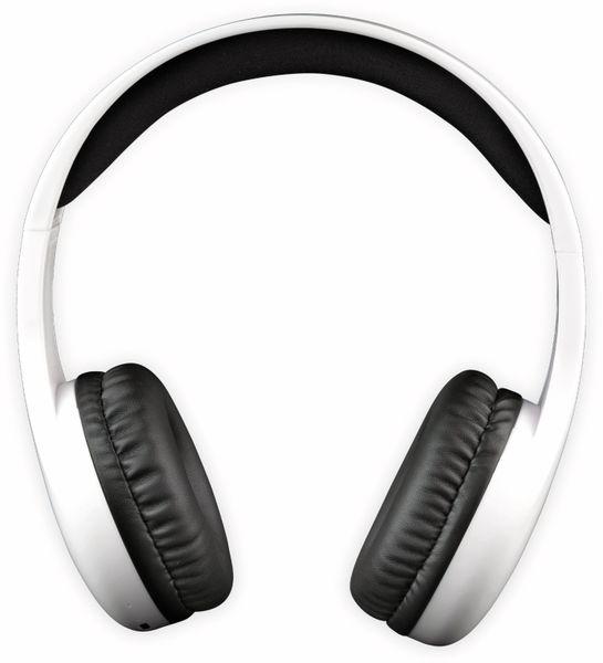 Bluetooth Over-Ear Kopfhörer DENVER BTH-240, weiß - Produktbild 2