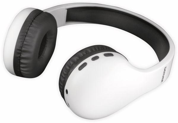 Bluetooth Over-Ear Kopfhörer DENVER BTH-240, weiß - Produktbild 4