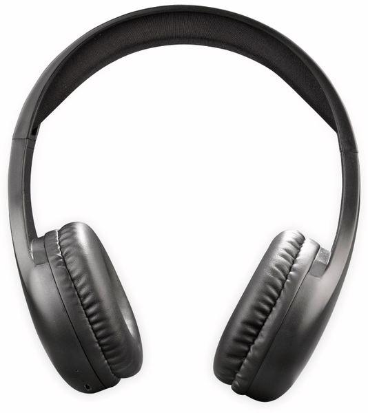 Bluteooth Over-Ear Kopfhörer DENVER BTH-240, schwarz - Produktbild 2