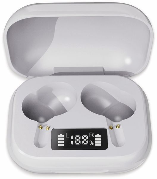 In-Ear Ohrhörer DENVER TWE-38, weiß - Produktbild 3