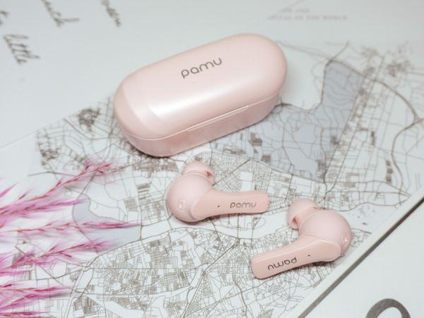 In-Ear Ohrhörer PADMATE Pamu Slide T6C, pink - Produktbild 4