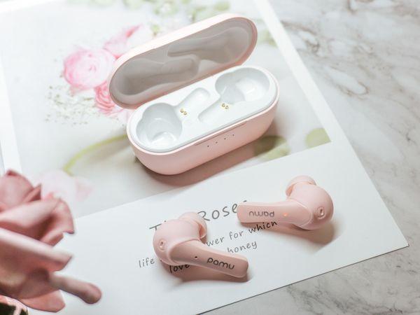 In-Ear Ohrhörer PADMATE Pamu Slide T6C, pink - Produktbild 5