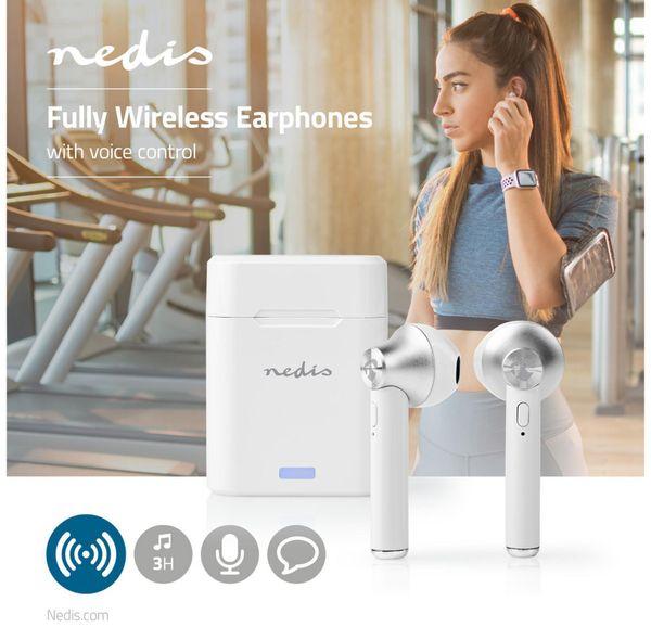 In-Ear Ohrhörer NEDIS HPBT3052WT - Produktbild 3
